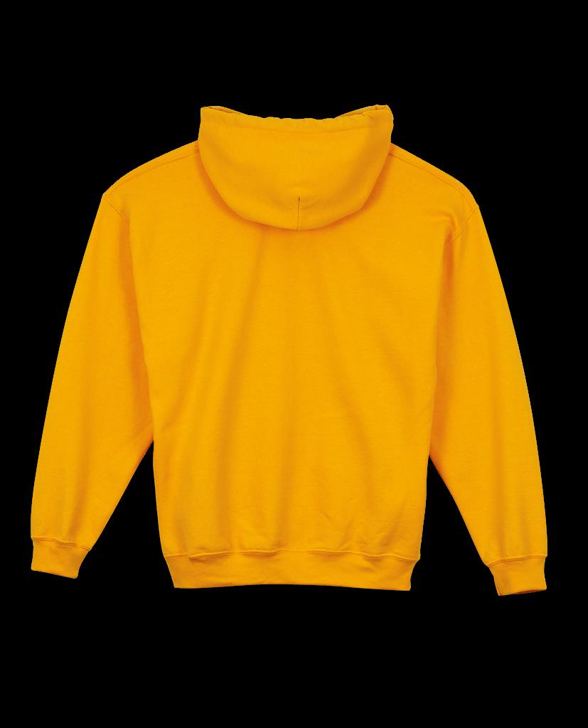 Yellow Bic hoodie