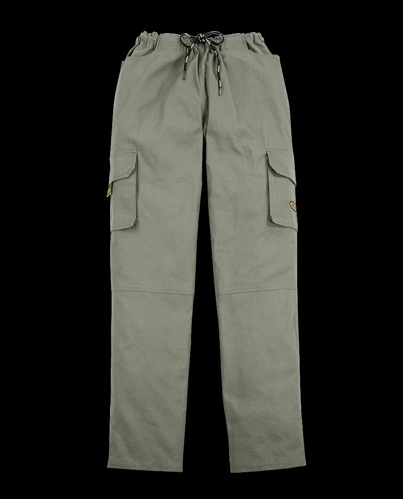 Grey‑khaki Jack pants