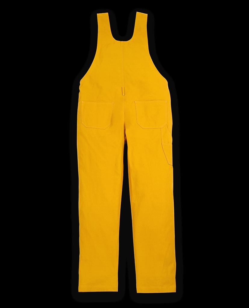 Yellow dungarees
